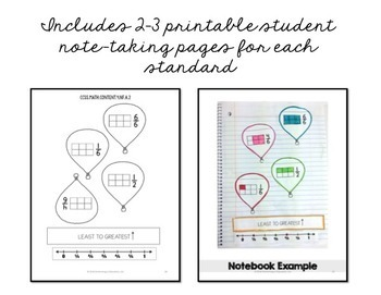 Interactive Math Notebook ALL 4th Grade Common Core Standards ENTIRE YEAR