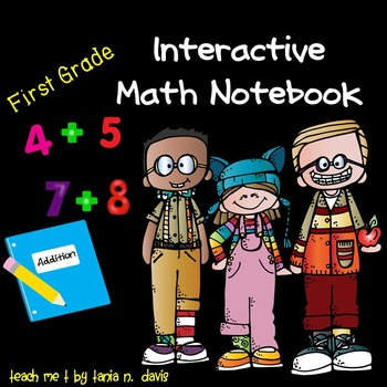 Common Core Aligned Interactive Math Notebook ~Addition~