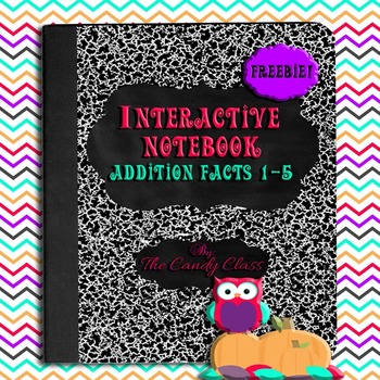 Interactive Math Notebook Addition Facts 1-5 Fall Theme {Freebie!}