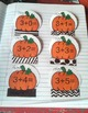 Interactive Math Notebook Addition Facts 1-5 Fall Theme {F