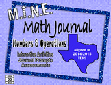 6th Grade Numbers and Operations Interactive Notebook BUNDLE {TEKS}