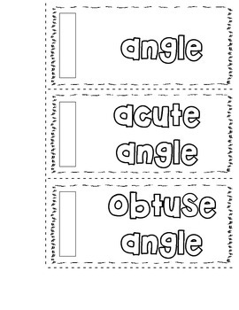 Interactive Math Notebook-Angles