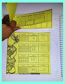 Interactive Math Notebook: August