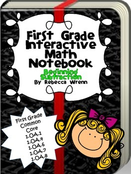 Interactive Math Notebook Beginning Subtraction