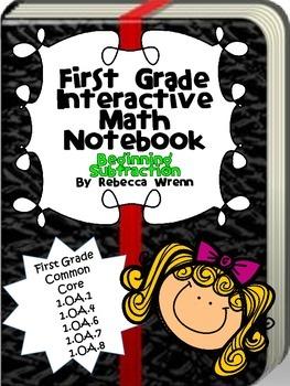 Interactive Math Notebook Beginning Subtraction