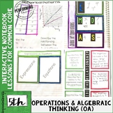 Interactive Math Notebook 5th Operations & Algebraic Thinking
