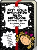 Interactive Math Notebook Beginning Addition