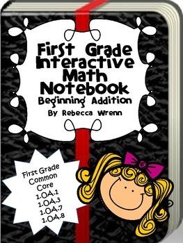 Interactive Math Notebook Beginning Addition