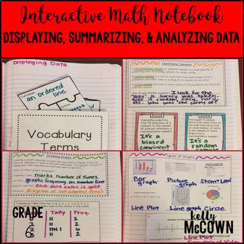Interactive Math Notebook: Displaying, Analyzing, and Summ