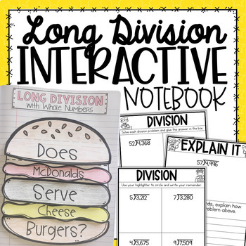 Division Interactive Notebook {5.NBT.6}