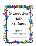 Interactive Math Notebook - Entire Year