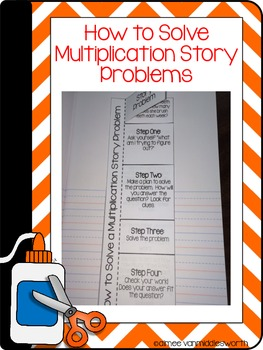 Interactive Math Notebook: Flip Books for Meanings of Multiplication