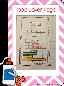 Interactive Math Notebook: Flipbooks for Data