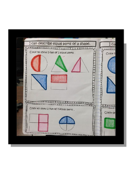 Interactive Math Notebook Fractions