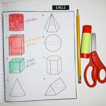 Interactive Math Notebook: Geometry (Grade 5)