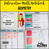 Interactive Math Notebook: Geometry (Grade 5)