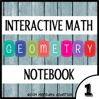 Interactive Math Notebook: Geometry for 1st (Math Journals, Lapbooks)
