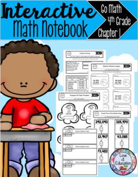 Interactive Math Notebook Go Math 4th Grade Chapter 1