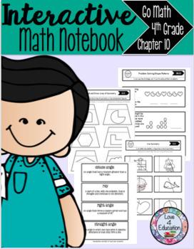 Interactive Math Notebook Go Math 4th Grade Chapter 10