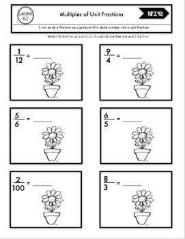 Interactive Math Notebook Go Math 4th Grade Chapter 8
