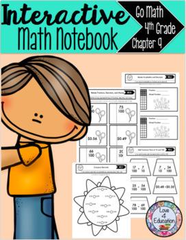 Interactive Math Notebook Go Math 4th Grade Chapter 9
