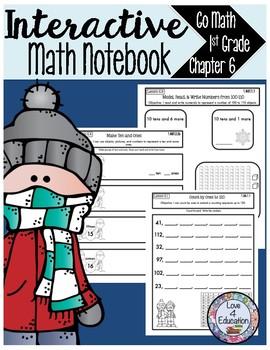 Interactive Math Notebook Go Math First Grade Chapter 6