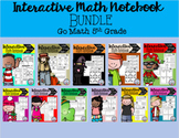 Interactive Math Notebook Go Math Fifth Grade BUNDLE