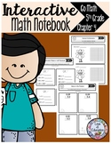 Interactive Math Notebook Go Math Fifth Grade Chapter 4