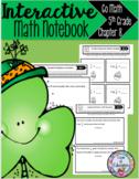 Interactive Math Notebook Go Math Fifth Grade Chapter 8