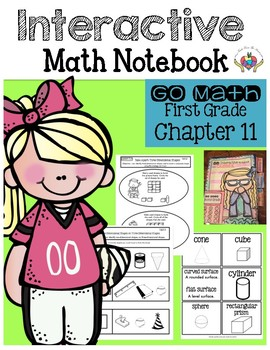 Interactive Math Notebook Go Math First Grade Chapter 11
