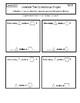 Interactive Math Notebook Go Math First Grade Chapter 12
