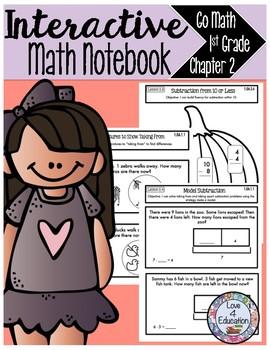 Interactive Math Notebook Go Math First Grade Chapter 2
