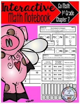Interactive Math Notebook Go Math First Grade Chapter 7