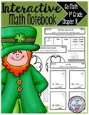 Interactive Math Notebook Go Math First Grade Chapter 8
