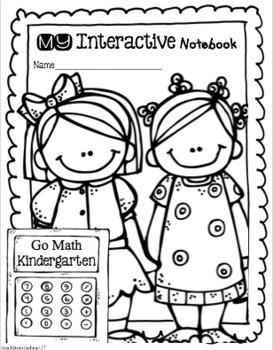 Interactive Math Notebook Go Math Kindergarten Chapter 1
