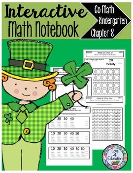 Interactive Math Notebook Go Math Kindergarten Chapter 8
