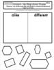 Interactive Math Notebook Go Math Kindergarten Chapter 9