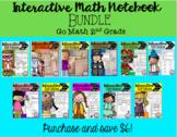 Interactive Math Notebook Go Math Second Grade BUNDLE