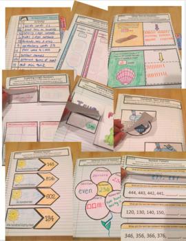 Interactive Math Notebook Go Math Second Grade Chapter 1
