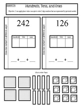 Interactive Math Notebook Go Math Second Grade Chapter 2