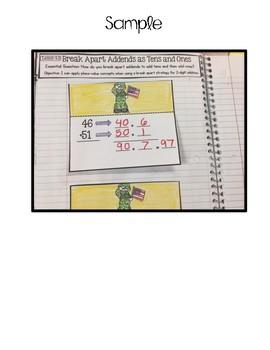 Interactive Math Notebook Go Math Second Grade Chapter 4