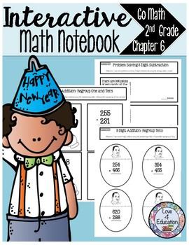 Interactive Math Notebook Go Math Second Grade Chapter 6
