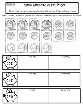 Interactive Math Notebook Go Math Second Grade Chapter 7