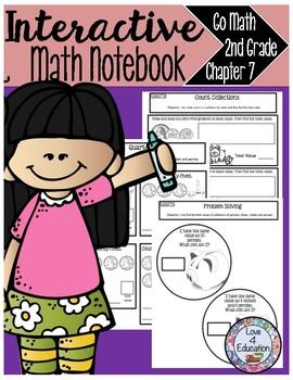 Interactive Math Notebook Go Math Second Grade Chapter 7