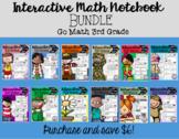 Interactive Math Notebook Go Math Third Grade BUNDLE