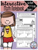 Interactive Math Notebook Go Math Third Grade Chapter 1