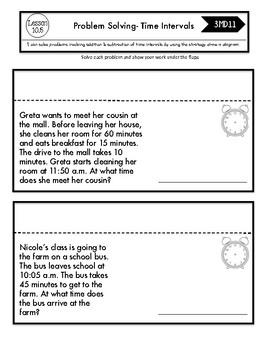 Interactive Math Notebook Go Math Third Grade Chapter 10