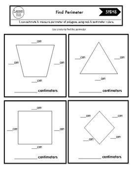 Interactive Math Notebook Go Math Third Grade Chapter 11