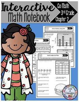 Interactive Math Notebook Go Math Third Grade Chapter 2
