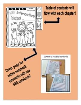 Interactive Math Notebook Go Math Third Grade Chapter 3